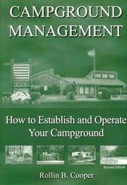 Campground Management: How to Establish and Operate Your Campground