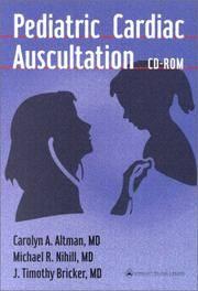 Pediatric Cardiac Auscultation CD-ROM (For Windows) by  J. Timothy  Michael R.; Bricker MD - from JVG-Books LLC and Biblio.com