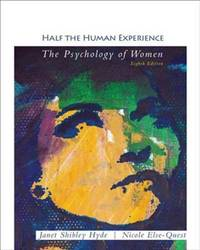 HALF THE HUMAN EXPER.:PSYCH.OF WOMEN by HYDE - Paperback - from Campus Bookstore and Biblio.com