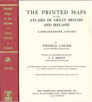 The Printed Maps in the Atlases of Great Britain and Ireland: A Bibliography, 1579-1870
