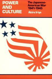 image of Power and Culture : The Japanese-American War, 1941-1945