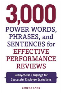 words for performance reviews