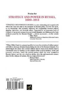 Strategy and Power in Russia, 1600-1914