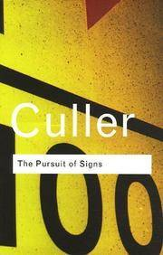 image of The Pursuit of Signs (Routledge Classics) (Volume 94)