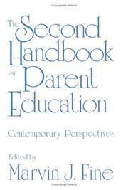 Second Handbook On Parent Education, The