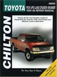 Chilton's Toyota Pick-Ups/Land Cruiser/4Runner 1989-96 Repair Manual