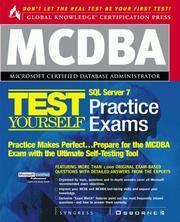 MCDBA SQL Server 7 Certification Boxed Set