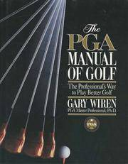 image of The PGA Manual of Golf: The Professional's Way to Play Better Golf