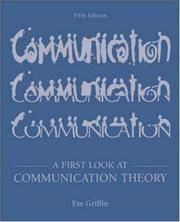 A First Look at Communication Theory with Conversations with Communication Theorists CD-ROM 2.0 by Em Griffin - Paperback - from Discover Books (SKU: 3199293346)