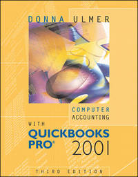 Computer Accounting With Quickbooks Pro 2001