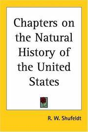 image of Chapters on the Natural History of the United States