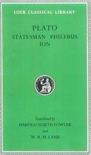 Statesman, Philebus, Ion