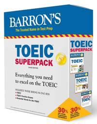 TOEIC Superpack (Barron's Test Prep)