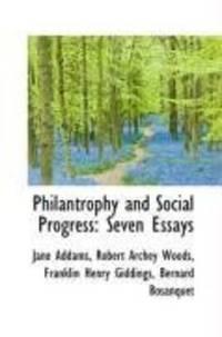 Philantrophy and Social Progress