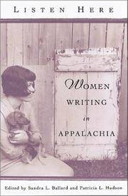 Listen Here: Women Writing in Appalachia