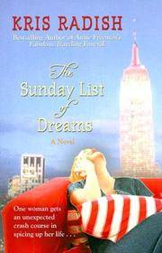 The Sunday List of Dreams (Wheeler Large Print Book Series)