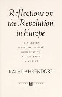 Reflections on the Revolution by Ralf Dahrendorf - Hardcover - from Discover Books (SKU: 3374466409)