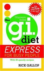 The GI Diet Express for Busy People