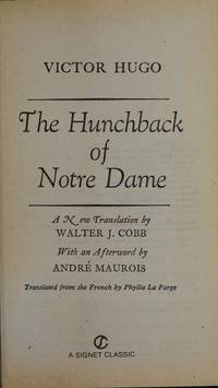 image of The Hunchback of Notre Dame (Signet classics)