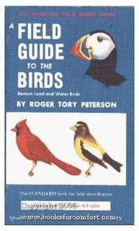 image of A Field Guide to the Birds: Eastern Land and Water Birds