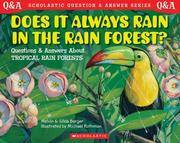 image of Does It Always Rain in the Rain Forest? (Scholastic Question & Answer)