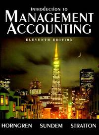 image of Introduction to Management Accounting
