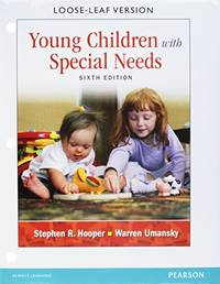 Young Children With Special Needs, Pearson eText -- Access Card