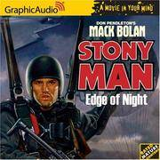 image of Edge of Night : Stony Man (Mack Bolan)
