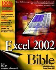 Excel 2002 Bible