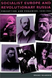Socialist Europe and Revolutionary Russia: Perception and Prejudice 1848-1923