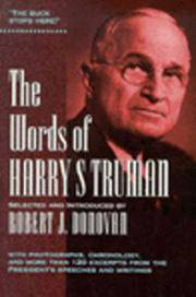 Words Of Harry S Truman, The