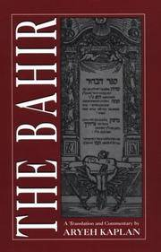The Bahir: A Translation and Commentary