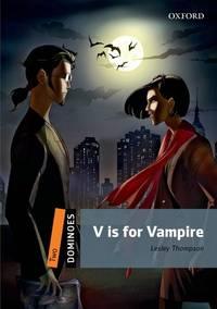 V is for Vampire (Dominoes, Level 2)