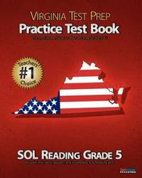 VIRGINIA TEST PREP Practice Test Book SOL Reading Grade 5
