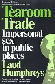 image of Tearoom Trade: Impersonal sex in public places (Observations)