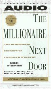 image of The Millionaire Next Door: The Surprising Secrets Of Americas Wealthy
