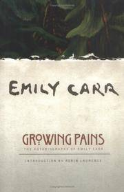 image of Growing Pains: The Autobiography of Emily Carr (Clarke Irwin Canadian Paperback)