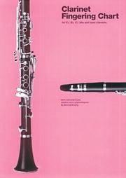 Amsco Clarinet Fingering Chart for E-Flat, B-Flat and E-Flat Alto and bass clarinets (Amsco Fingering Charts).
