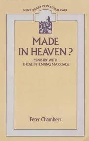 Made in Heaven?: Ministry with Those Intending Marriage
