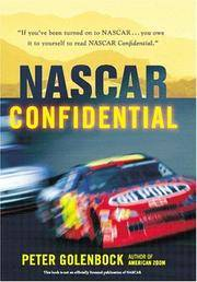 NASCAR Confidential: Triumph and Tragedy in America's Racing Heartland [Hardcover] Golenbock,...