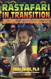 Rastafari in Transition the Politics of Cultural Confrontation in Africa and the Caribbean 1966-1988