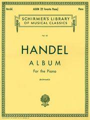 Album (22 Favorite Pieces): Piano Solo (Schirmer's Library of Musical Classics)