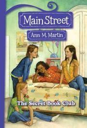 image of The Secret Book Club : main Street Book 5