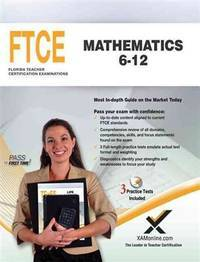 FTCE Mathematics 6-12 by  Sharon A Wynne - Paperback - from Queen Limited of North Florida (SKU: 07191900006)
