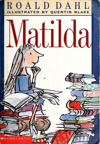 Roald Dahl Book Cover Pictures : Matilda by roald dahl