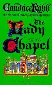 The Lady Chapel by Candace Robb - Paperback - from Better World Books  (SKU: GRP32667488)