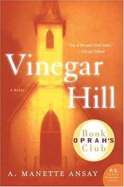 Vinegar Hill (P.S.) by A. Manette Ansay - Paperback - from Better World Books  (SKU: GRP117582853)
