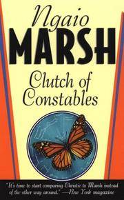 Clutch of Constables (St. Martin's Dead Letter Mystery) by Ngaio Marsh - Paperback - 1999-08-15 - from Ergodebooks (SKU: SONG0312970846)