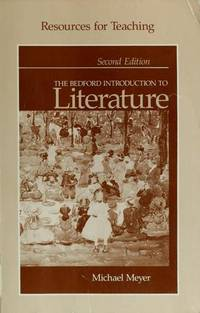 image of Resources for Teaching The Bedford Introduction to Literature
