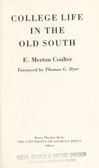 image of College Life in the Old South